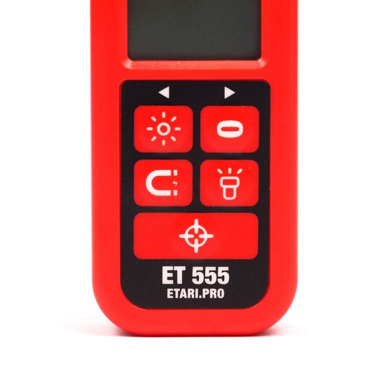 Толщиномер лакокрасочного покрытия Etari ET 555 (+ Два чехла и батарейки в подарок!) (фото 5)