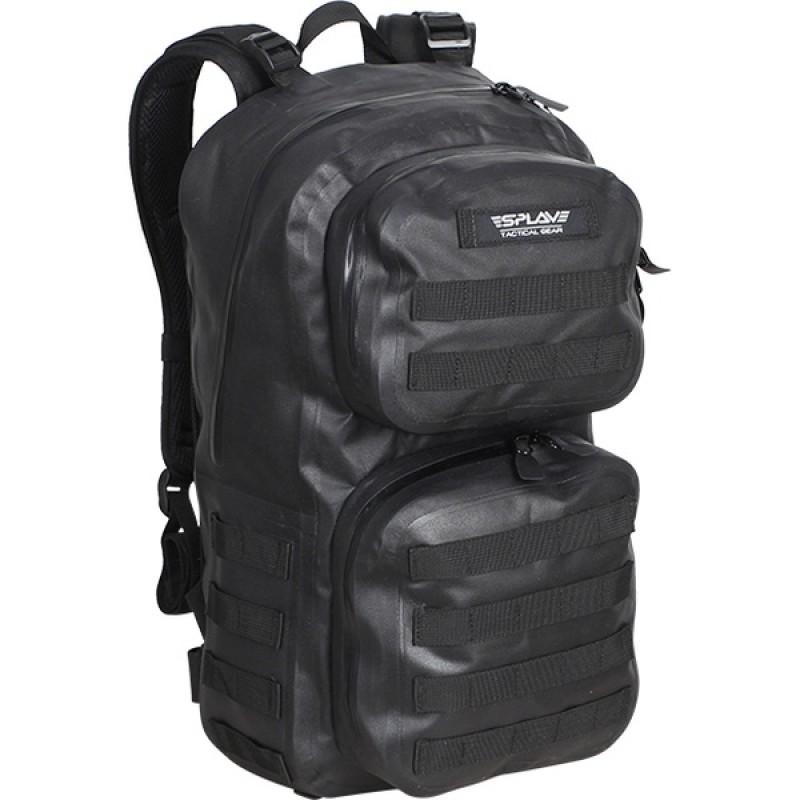 Рюкзак влагозащитный СПЛАВ NAVAL 35 (черный)