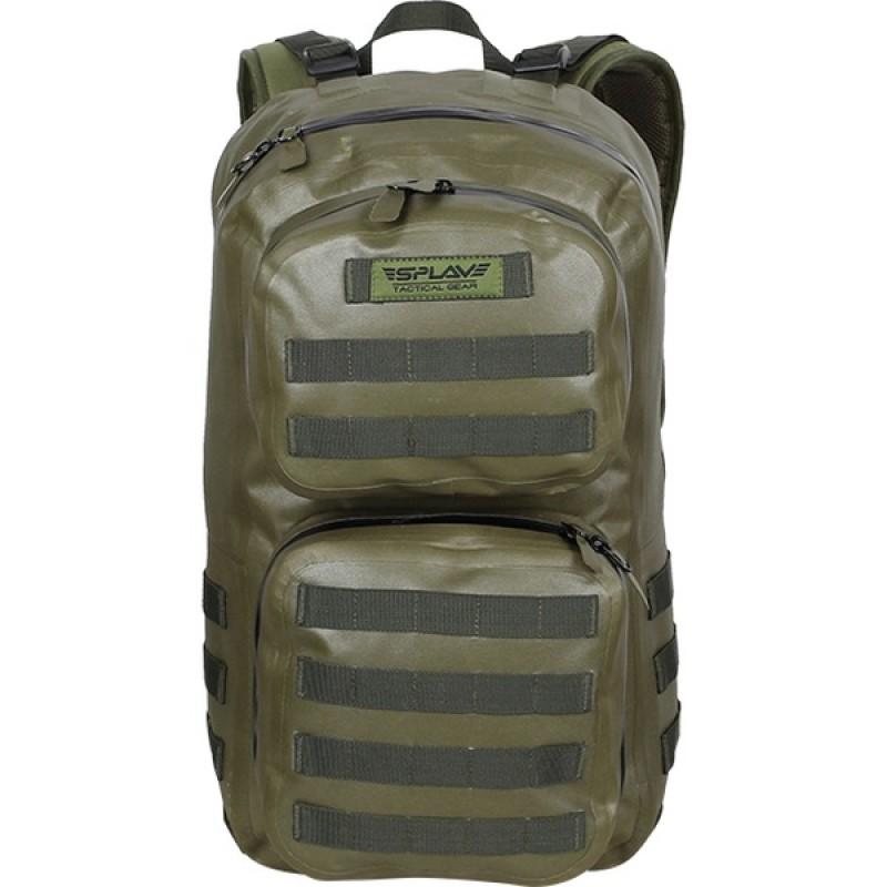 Рюкзак влагозащитный СПЛАВ NAVAL 35 (черный) (фото 2)