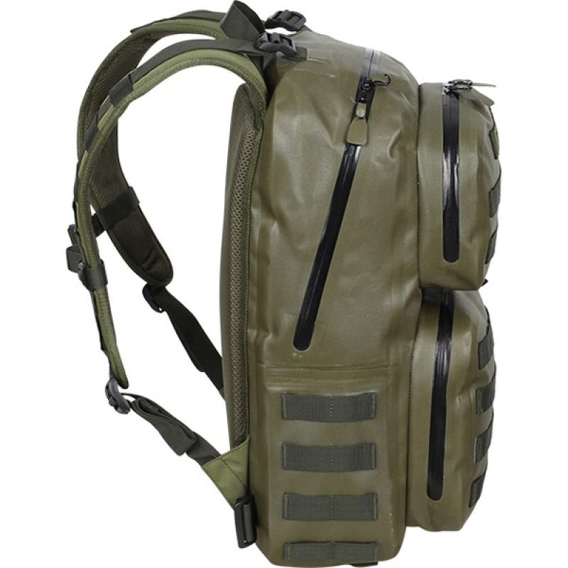 Рюкзак влагозащитный СПЛАВ NAVAL 35 (черный) (фото 3)