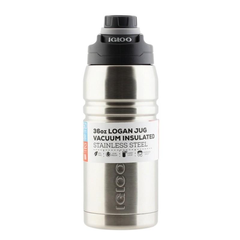 Термос Igloo Logan 36 (1 л) Steel