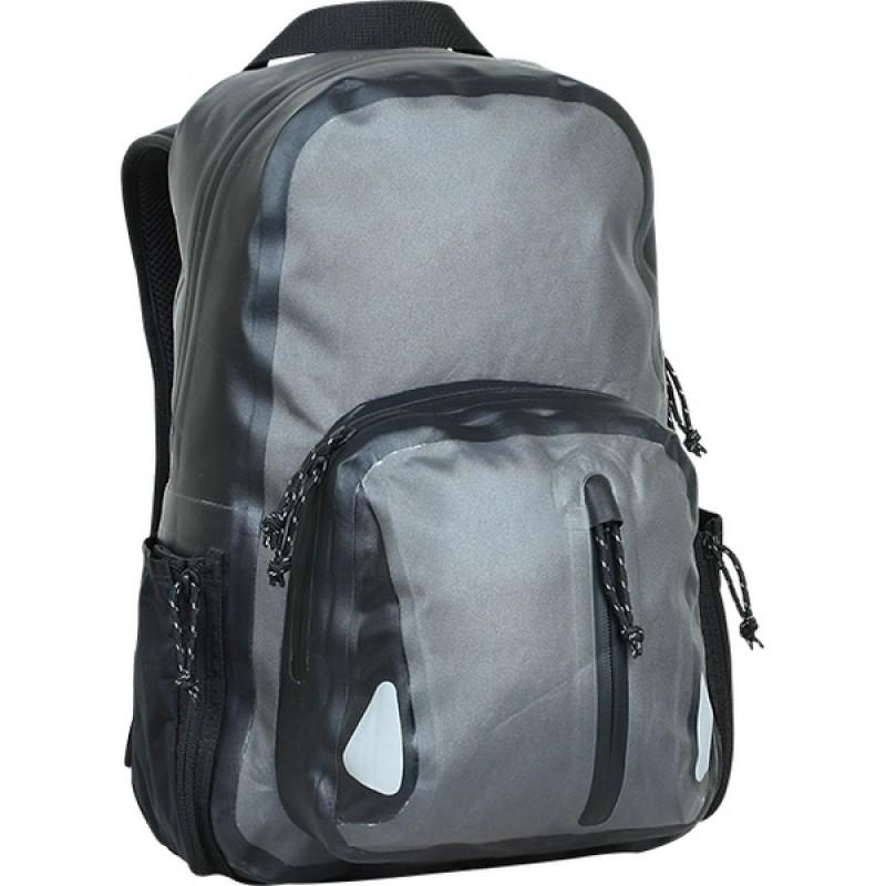 Рюкзак влагозащитный СПЛАВ TRANGO (черный/серый)