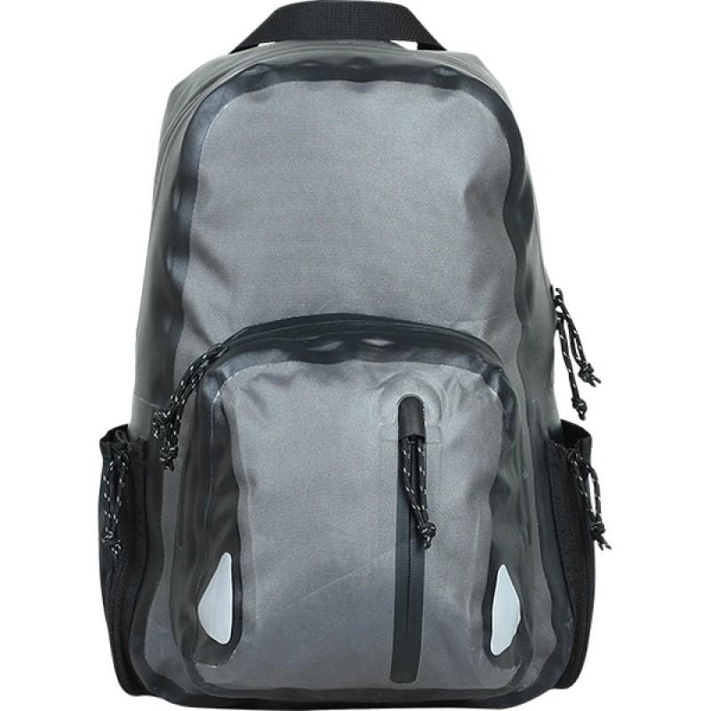 Рюкзак влагозащитный СПЛАВ TRANGO (черный/серый) (фото 2)