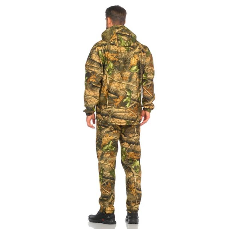 Демисезонный костюм Huntsman Никс ЛЮКС цвет Светлый Лес ткань Alova windblock (фото 3)