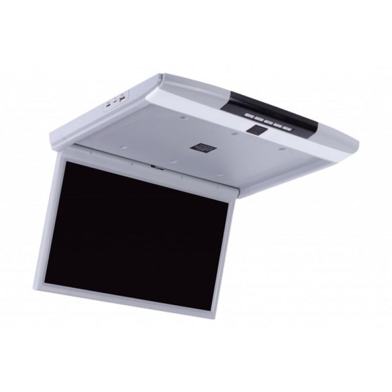 Потолочный монитор для автомобиля ERGO ER17S Серый