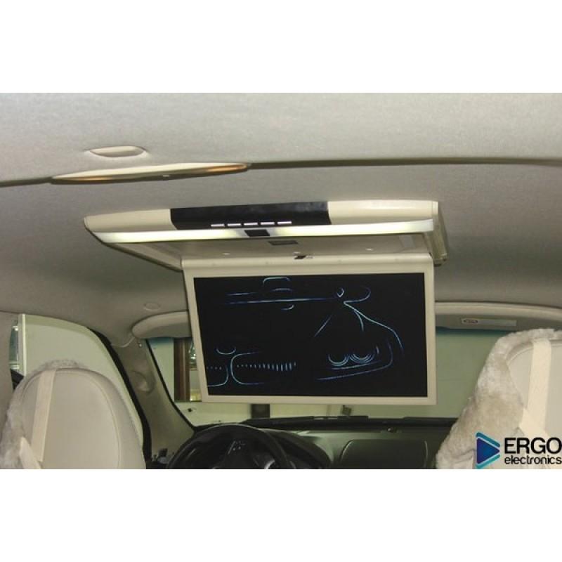 Потолочный монитор для автомобиля ERGO ER17S Серый (фото 3)