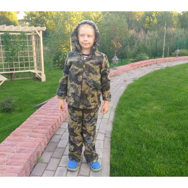 Детский костюм «Никс» (флис, геометрия хаки) МАУГЛИ (фото 3)