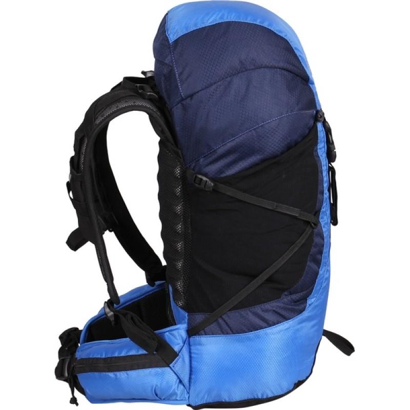 Туристический рюкзак СПЛАВ LYNX 35 (черный, синий) (фото 3)