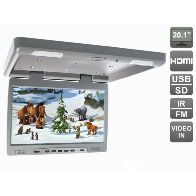 Потолочный монитор для автомобиля Потолочный монитор 20,1 AVEL AVS2020MPP (серый) (фото 2)