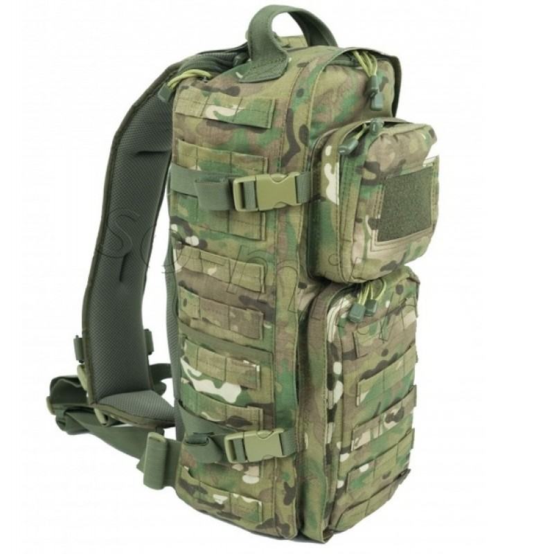 Тактический однолямочный рюкзак SSO РЫСЬ Мультикам