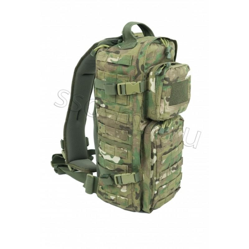 Тактический однолямочный рюкзак SSO РЫСЬ Мультикам (фото 2)