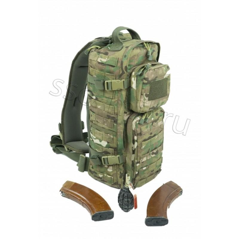 Тактический однолямочный рюкзак SSO РЫСЬ Мультикам (фото 3)