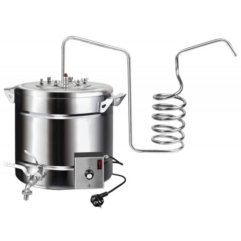 Самогонный аппарат (дистиллятор) ФЕНИКС Дачный – Эконом 30 литров (с теном)