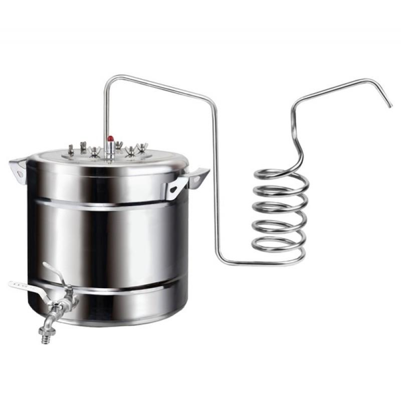 Самогонный аппарат (дистиллятор) ФЕНИКС Дачный – Эконом 30 литров (с теном) (фото 2)
