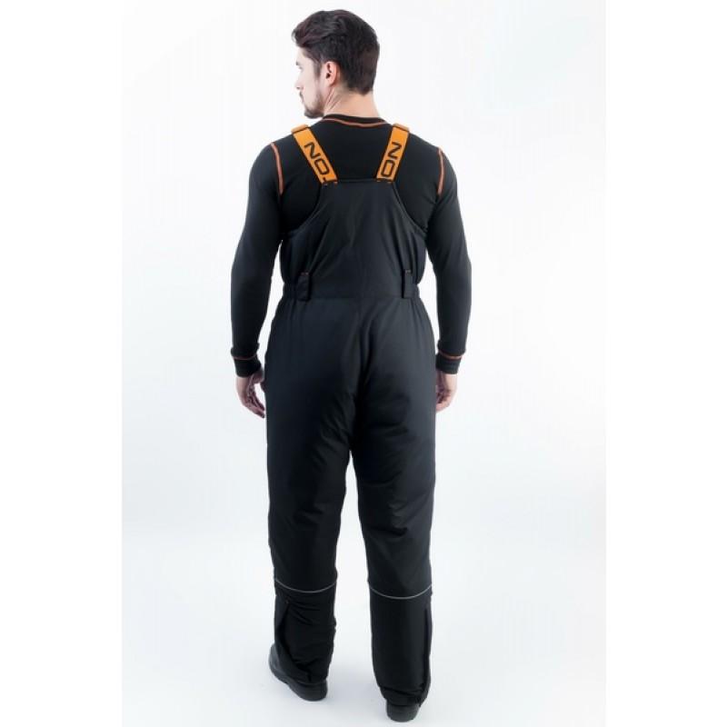 Зимний костюм для рыбалки и охоты TRITON Скиф -40 (Таслан, Черно-оранжевый) Поплавок (фото 2)