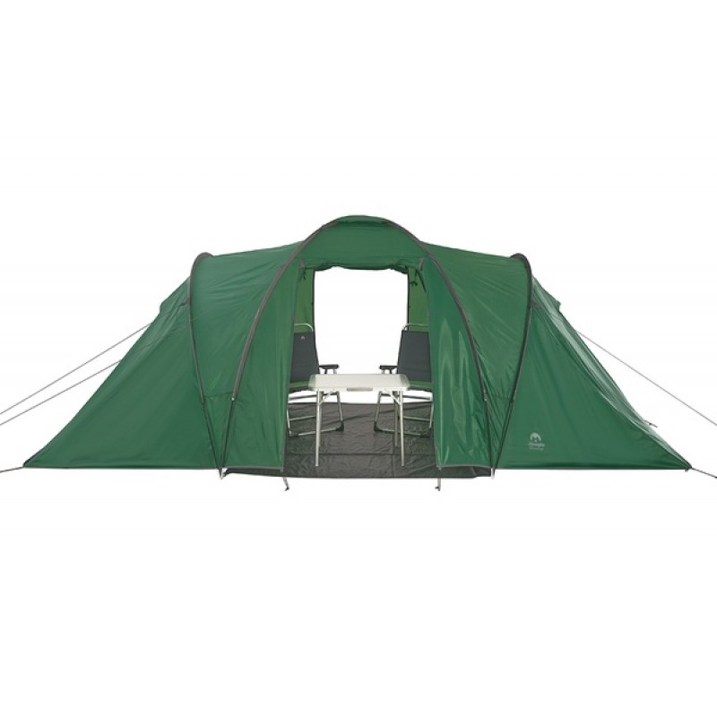 Палатка Jungle Camp (Trek Planet) TOLEDO TWIN 6 зеленая (фото 3)