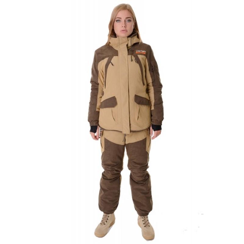 Женский костюм для охоты и рыбалки TRITON Горка -40 Б (Финляндия/Бежевая)