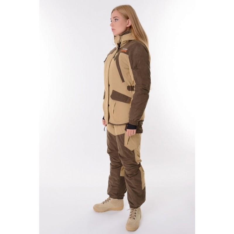 Женский костюм для охоты и рыбалки TRITON Горка -40 Б (Финляндия/Бежевая) (фото 2)