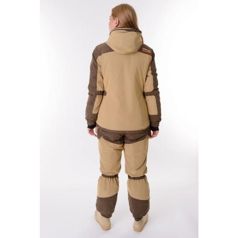 Женский костюм для охоты и рыбалки TRITON Горка -40 Б (Финляндия/Бежевая) (фото 3)