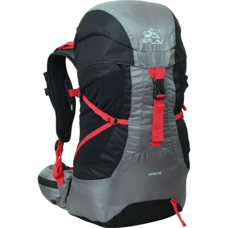 Туристический рюкзак СПЛАВ LYNX 35 (черный)