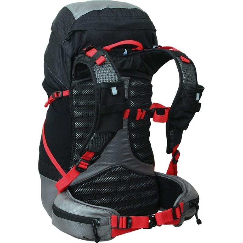 Туристический рюкзак СПЛАВ LYNX 35 (черный) (фото 2)