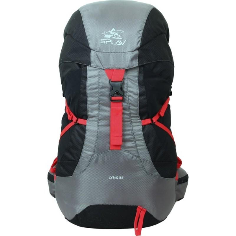 Туристический рюкзак СПЛАВ LYNX 35 (черный) (фото 3)