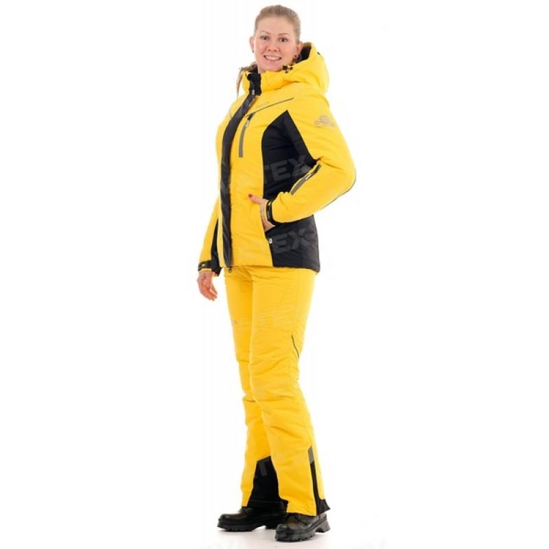Зимний женский костюм «Грация» -35 (Кошачий глаз, Желтый) PAYER