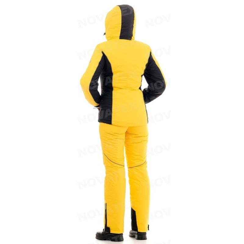 Зимний женский костюм «Грация» -35 (Кошачий глаз, Желтый) PAYER (фото 2)