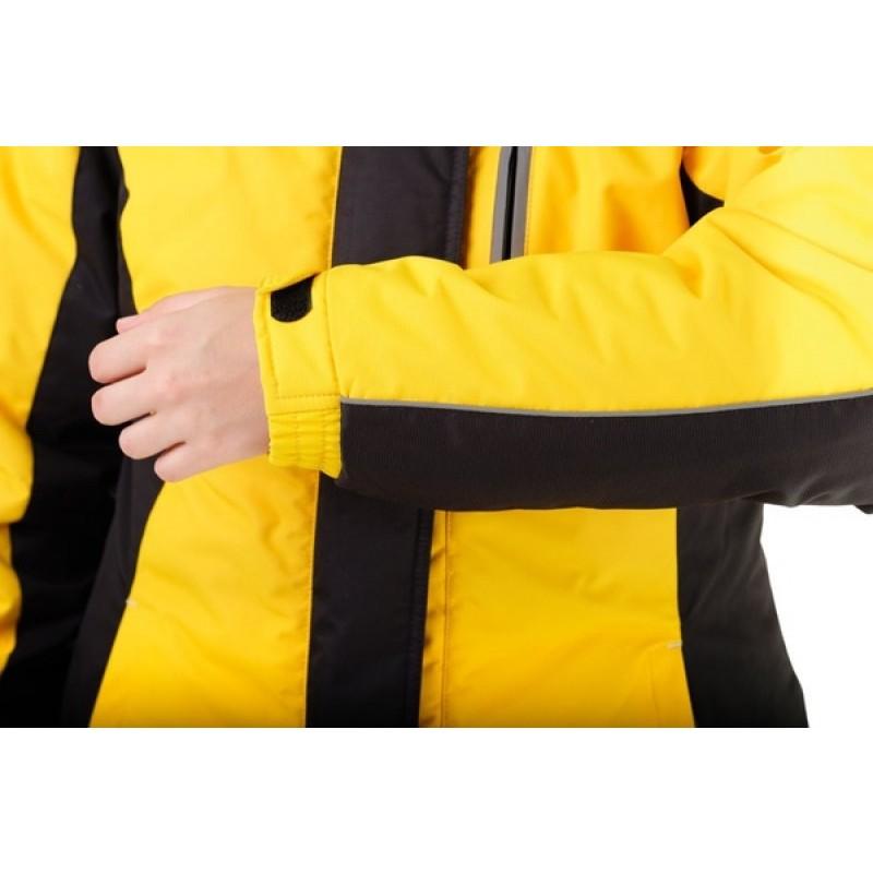 Зимний женский костюм «Грация» -35 (Кошачий глаз, Желтый) PAYER (фото 3)