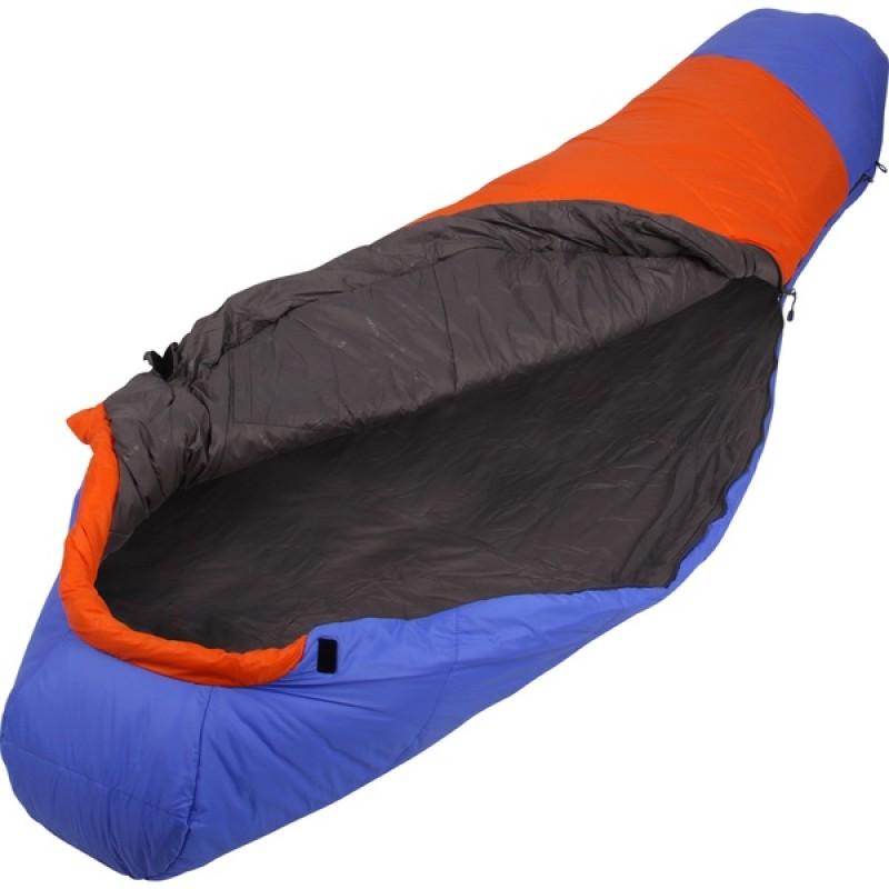 Спальный мешок СПЛАВ Fantasy 233 (синий/оранжевый, правый)
