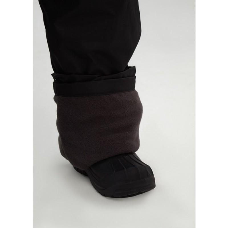 Подростковые утепленные осенние брюки для девочек KATRAN Young (дюспо, черный) (фото 3)