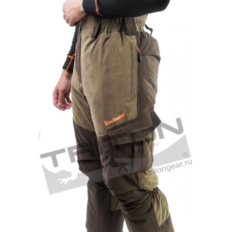 Зимний костюм для рыбалки и охоты TRITON Горка -40 (Финляндия, коричневый) (фото 3)