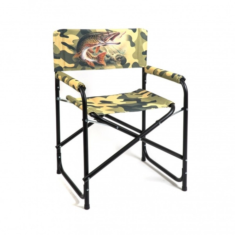 Кресло складное базовый вариант AKS-01S (алюминий, сублимация)