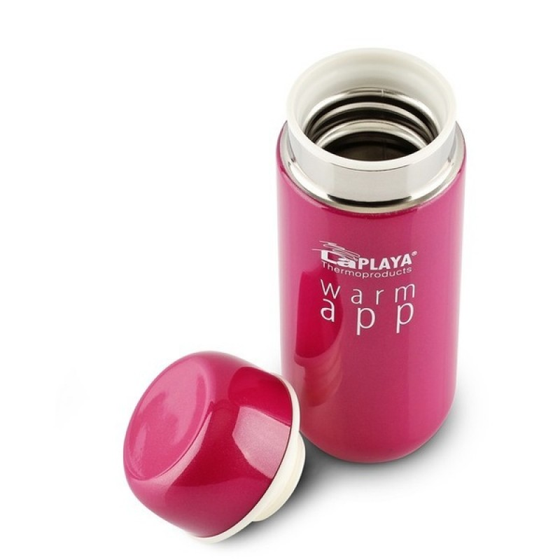 Термос LaPlaya WarmApp pink 0,2L (фото 3)
