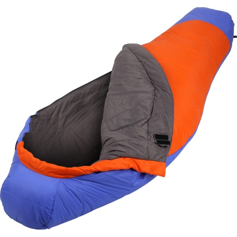 Спальный мешок СПЛАВ Fantasy 233 (синий/оранжевый, левый)