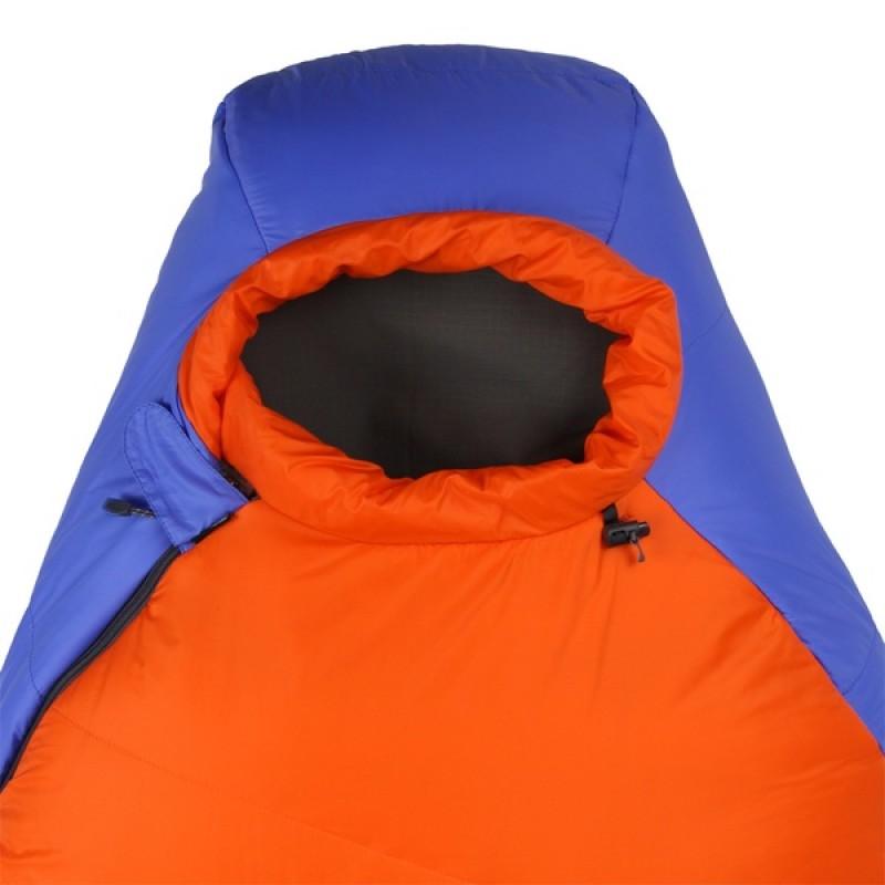 Спальный мешок СПЛАВ Fantasy 233 (синий/оранжевый, левый) (фото 3)