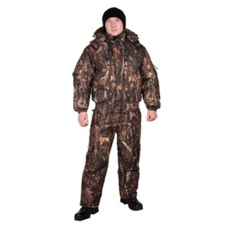 Зимний костюм для рыбалки и охоты «Снайпер» -20 (алова, 672-2)КВЕСТ