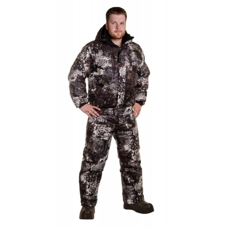 Зимний костюм для рыбалки и охоты «Снайпер» -20 (алова, 672-2)КВЕСТ (фото 2)