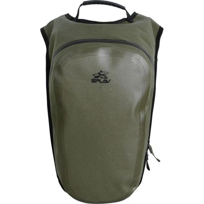 Рюкзак влагозащитный СПЛАВ RAINWAY (олива) (фото 2)