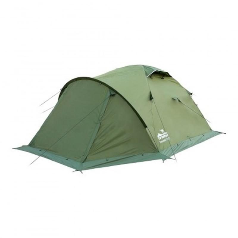 Палатка Tramp Mountain 2 (V2) (зеленый)