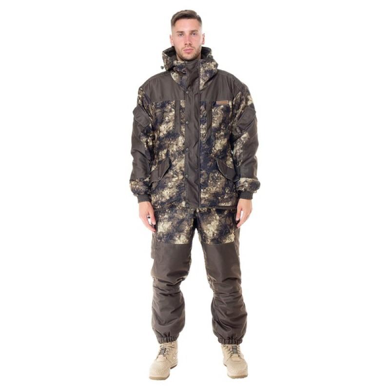 Зимний костюм для охоты и рыбалки АНГАРА -30°С (Алова, MU-1G/соты) Huntsman