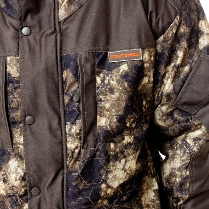 Зимний костюм для охоты и рыбалки АНГАРА -30°С (Алова, MU-1G/соты) Huntsman (фото 3)