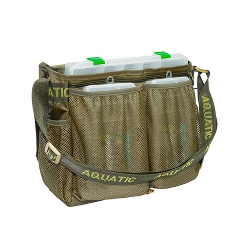 Сумка Aquatic СК-15 с 3 коробками (FisherBox, 41×36×12 см) (фото 3)
