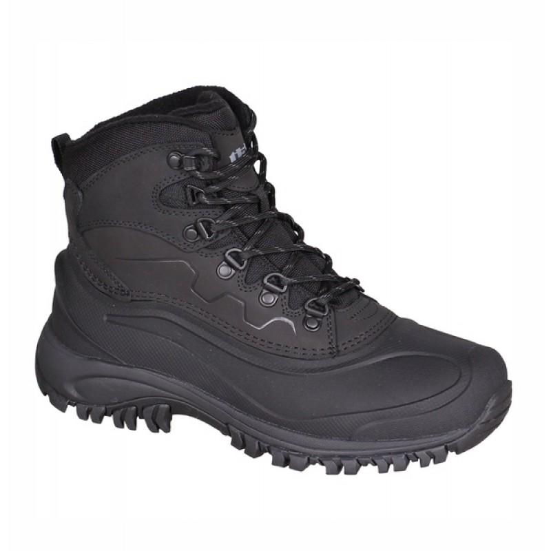 Ботинки трекинговые утепленные THB Vinson (черные)