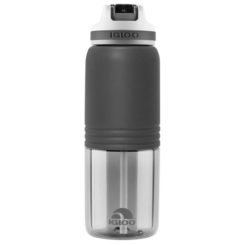 Пластиковая бутылка для воды IGLOO Hydration Swift 710 мл ASPHALT