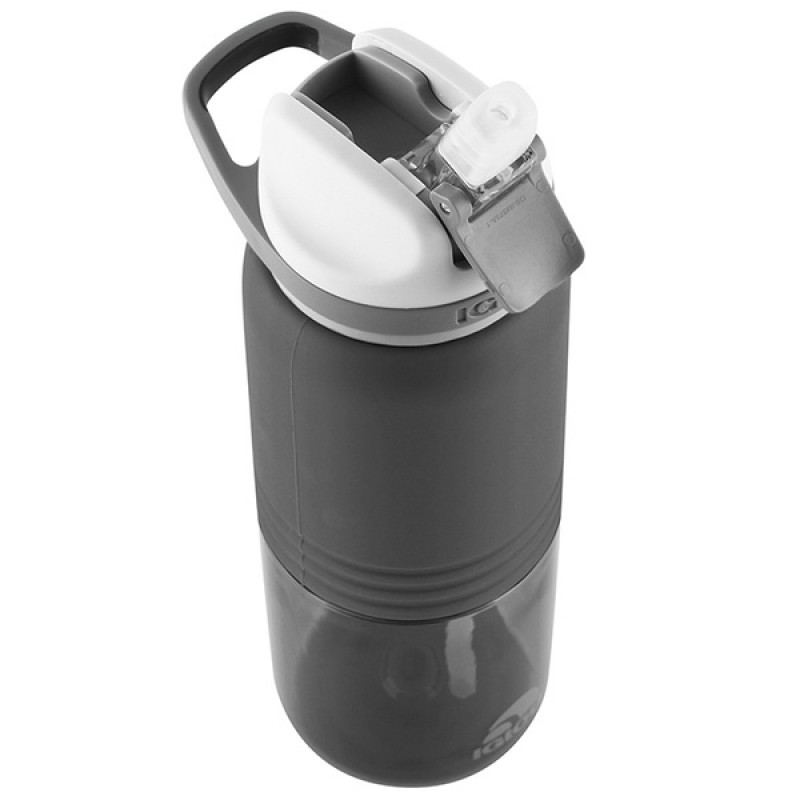 Пластиковая бутылка для воды IGLOO Hydration Swift 710 мл ASPHALT (фото 2)
