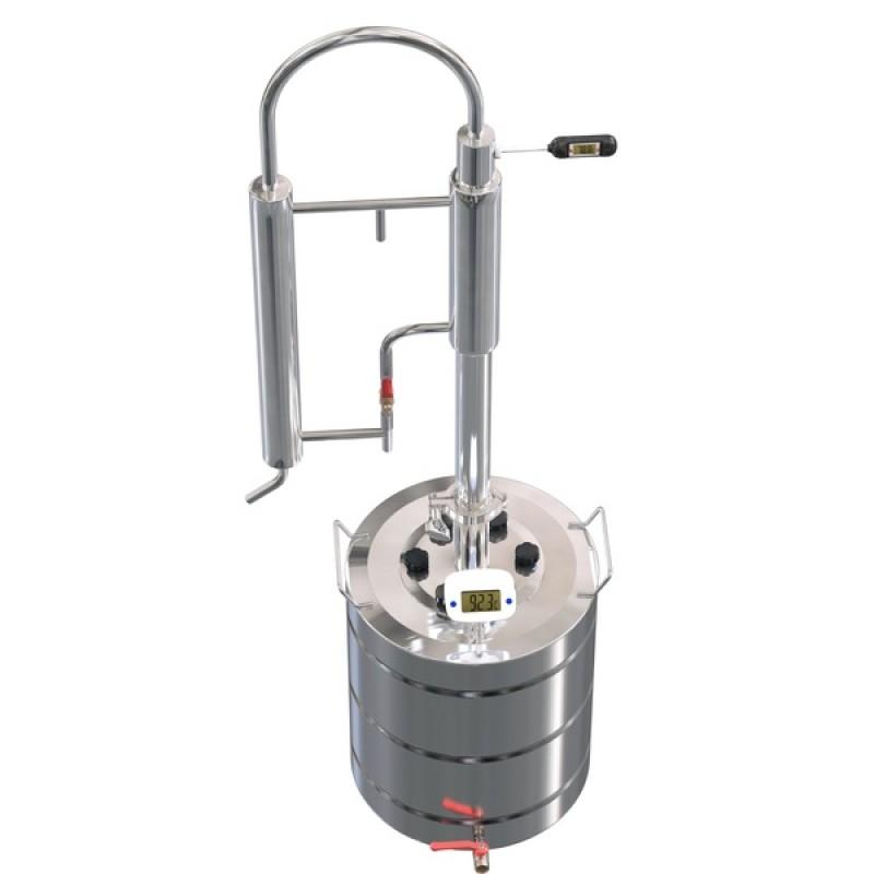Самогонный аппарат (дистиллятор) ФЕНИКС Зенит (Классический куб) 30 литров + кран. (фото 2)