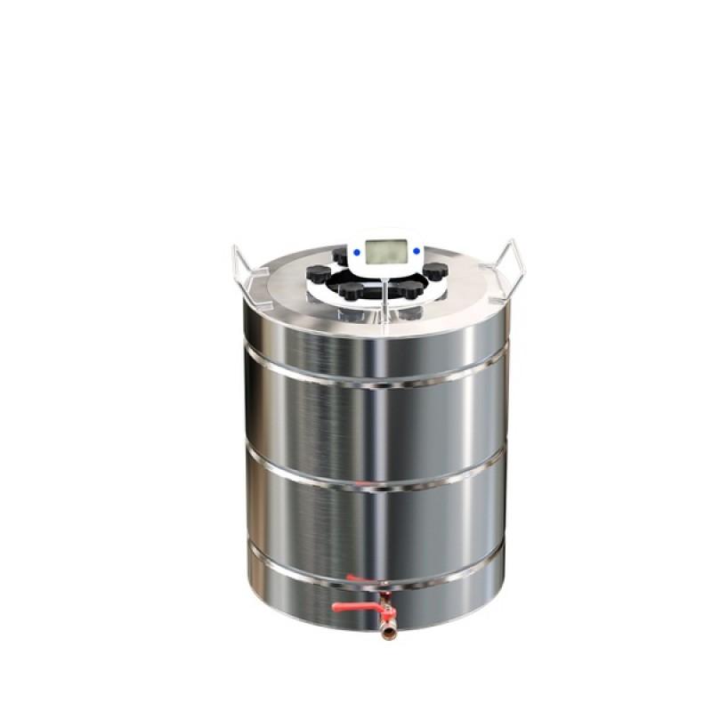 Самогонный аппарат (дистиллятор) ФЕНИКС Зенит (Классический куб) 30 литров + кран. (фото 3)
