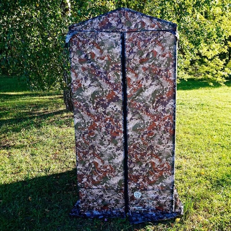 Походный душ, туалет TD-02 (алюминий) (фото 2)