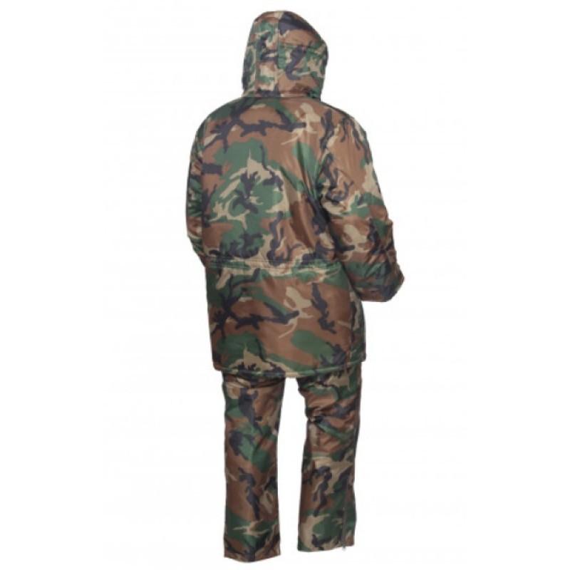 Зимний костюм для рыбалки ОКРУГ «РЫБАК» (Оксфорд, камуфляж нато) (фото 3)